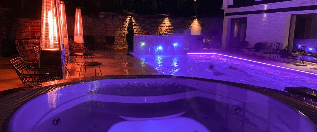 piscina exterioara incalzita Predeal